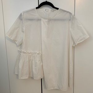 Half Frill Blouse from COS
